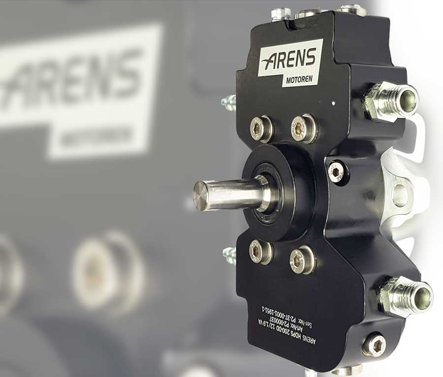 ARENSMULTI FLUID HIGH PRESSURE PUMP